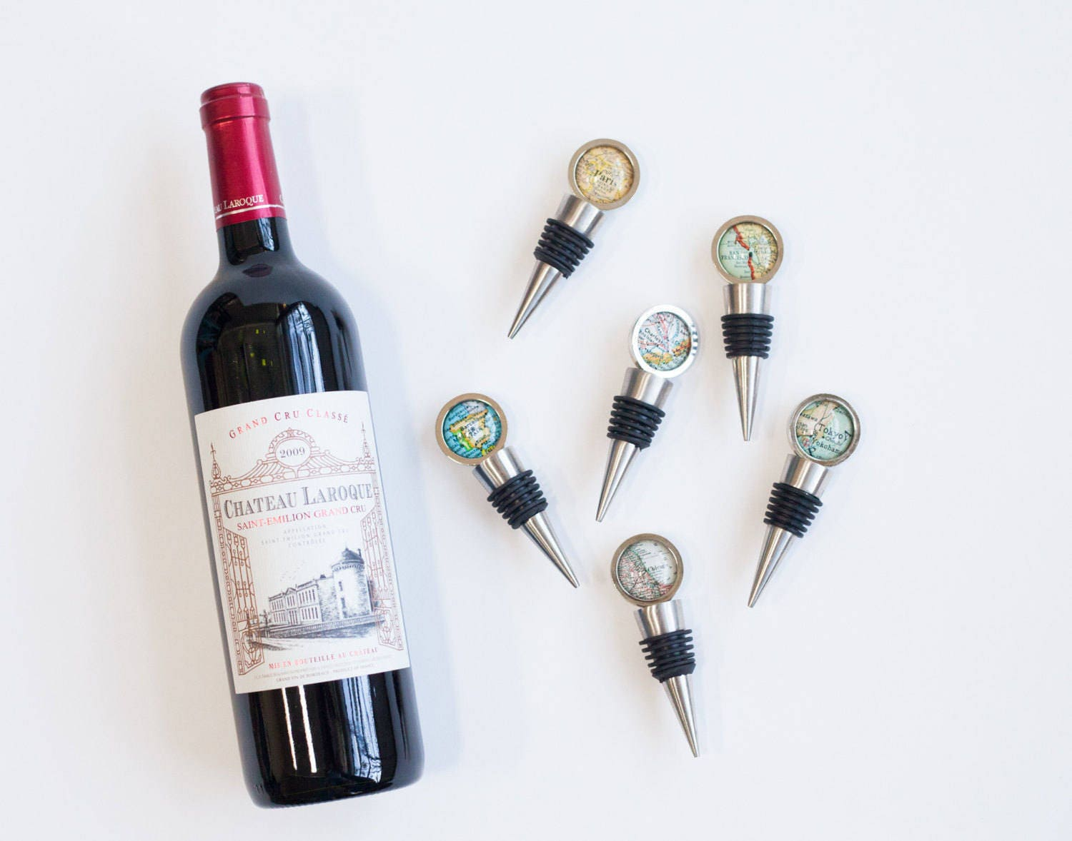 Italy Map Wine Stopper - Italy Wine Stopper - Housewarming Gift ...