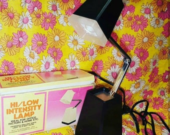Vintage Black High/Low Intensity Lamp