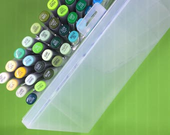 Copic Organizer 6 pack-Wall Boxes Set + Cut FIle for making your own holders