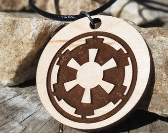 Star Wars Empire inspired pendant Necklace