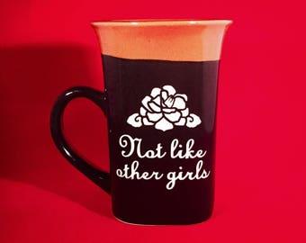 Scarlet Begonias Not Like Other Girls Coffee Mug Grateful Dead