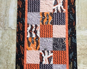Halloween Charm Square Table Runner