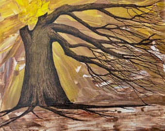 I Embrace My Roots ORIGINAL canvas PAINTING