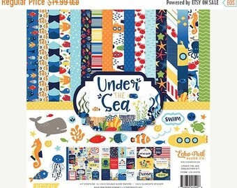 WOWZA Echo Park Under the Sea  12x12 Collection Kit