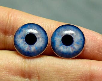 Doll irises 14mm color Steel constricted pupil