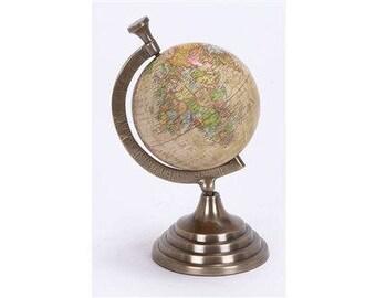 Pioneer Wooden Desk Globe