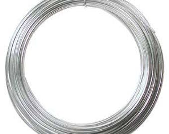 Aluminum Wire Silver Color 12ga/39ft DA2602