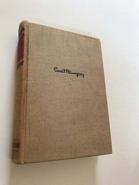 First Edition For Whom the Bell Tolls Ernest Hemingway 1940