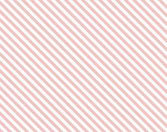 ON SALE Riley Blake Designs Sweet Orchard Stripe Pink