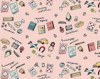 EXTRA20 Penny Rose Fabrics Five & Dime - Merchandise Pink