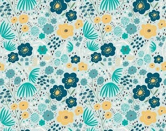 EXTRA20 20% OFF Ava Rose By Deena Rutter Floral Blue