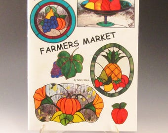 Stained Glass Pattern Book - 'Farmers Market' by Mari Stein