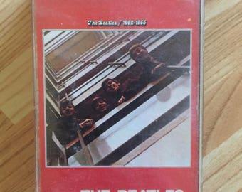 The Beatles 1962-1966 Cassette Tape Music