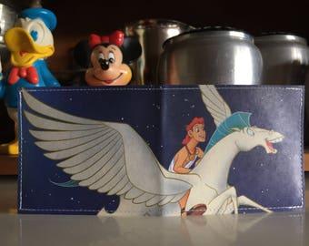 Hercules & Pegasus Disneyland Map Wallet