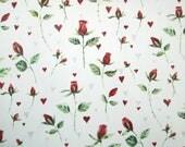 Red rosebuds permanent tr...
