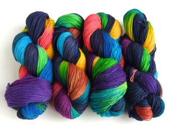 Yarn Pre-Order, Storm's End, 75/25 Superwash Merino/Nylon Fingering Weight Sock Yarn, Three Waters Farm