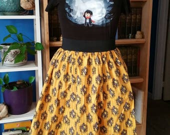 Hogwarts House Skirt with Pockets