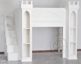 Twin Castle Playhouse Bed