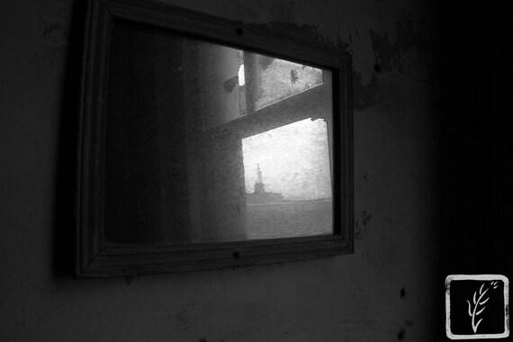 """Dirty Liberty,"" Ellis Island Immigrant Hospital, New Jersey, 2017."