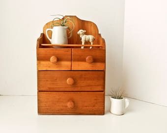 Small Wooden Cabinet, Wall Cabinet, Shelf Cabinet, Rustic Cabinet, Small Cabinet