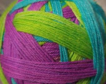 Prom? Self striping sock yarn