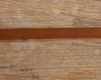 Light Brown Bias  - 3 yards Vintage Trim New Old Stock 60s 70s Edging