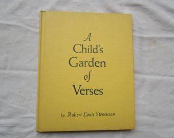 A Child's Garden of Verses, Robert Louis Stevenson published by Platt & Munk, 1961