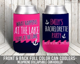 bachelorette party can coolies / bachelor party lake bachelor party lake house can coolies MCC-009