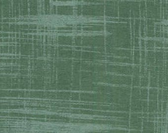 Michael Miller Fabrics Painters Canvas in Green Tea 1 Fat Quarter Laura Gunn Fabric