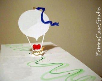 Hot Air Balloon 180 degrees - No.805