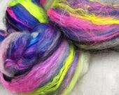 Ghouls 3.1oz Merino Art Batt • Spinning , Weaving, Needle Felting