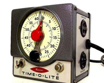 Vintage Master Time-O-Lite - Photography Darkroom Enlarger -  for use or repurposing