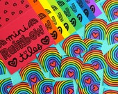 Mini Rainbow Tiles