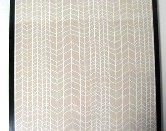 Weaving ..Magnetic Dry Erase Steel Memo Board / Housewarming Gift / Office Decor / Organization / Desk /Message / Coworker / Wall Hanging