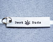 Best Buds Key Chain - Marijuana Keychain - Pot Keychain - Cannabis Keychain - Stoner - Pothead - Weed - Cannabis Community -