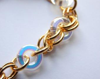 Chunky bracelet Chain bracelet Gold Bracelet Layering bracelet Gift for Her