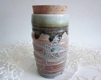 Medium Pet Urn, Ash keeper Ceramic Urn, Salt  fired Cremation Urn, Ashes Jar, Ashes Holder Salt fired urn