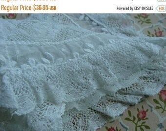 ONSALE Antique Edwardian Heirloom Tambour Brussels Intoxicating Antique Handmade Whitework Collar Downton Gatsby 24