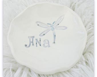 Personalized  Trinket Dish  FREE SHIPPING