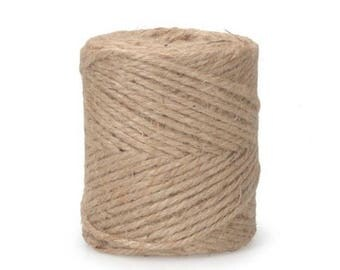 Natural Jute Twine 3 Ply Cord