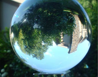 Crystal Ball, Scry Magic, Power, Mystery, Prophecy, Wicca, Harry Potter, SoothSayer, Witch, Dark Art, Enchantment, Fortune Teller,WOOD Stand