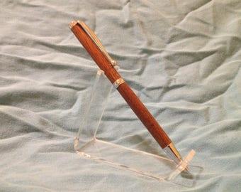 Red Oak Slimline Pen