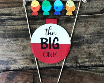 The BIG One Cake Topper- first birthday