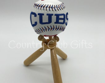Coach Gift | Personalized baseball | Baseball Mom | Little league | embroidered baseball | Commemorative Baseball | Baseball decor