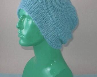 40% OFF SALE madmonkeyknits - Chunky Garter Stitch Slouch pdf knitting pattern - Instant Digital File pdf download knitting pattern