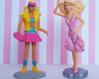 Two Barbie Figurines by Applause 1991
