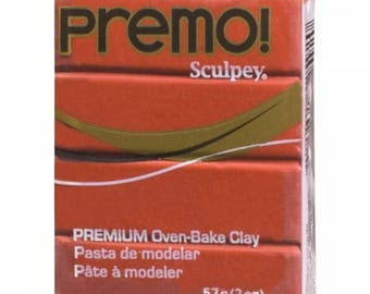 5018 Copper Premo! Sculpey Oven-Bake Polymer Clay, 2 oz, Polymer Clay