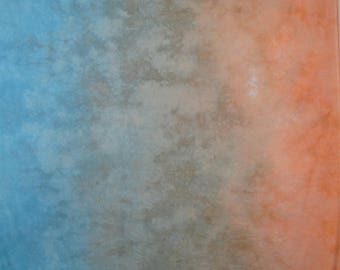 Hand Dyed Fabric Southwest Gradient