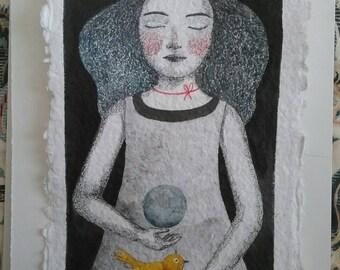 Moon. Peace. Love