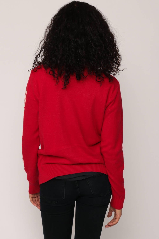 Budweiser Sweater Beer Sweater Drinking Shirt Vintage Red